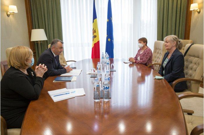 Кику встретился с представителем ЮНИСЕФ в Молдове