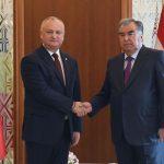 Додон поздравил президента Таджикистана с Днём независимости этой страны