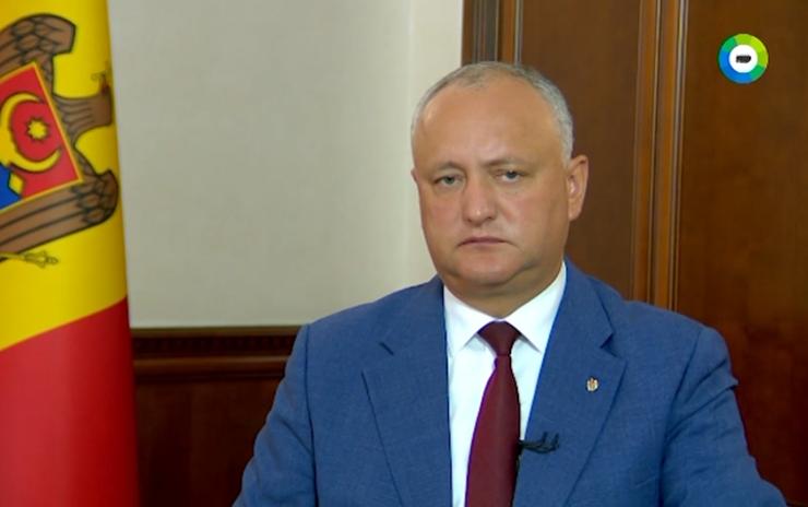 Додон: После решения приднестровской проблемы Молдова будет намного сильнее (ВИДЕО)
