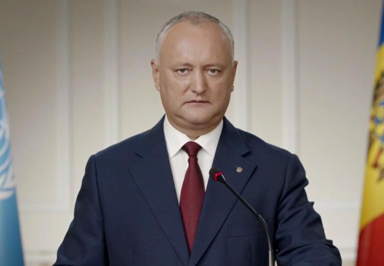 В следующем году Додон представит план решения приднестровского конфликта