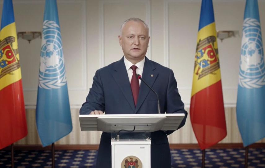 Президент: Постоянный нейтралитет Молдовы – основа нашей безопасности