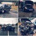 Нетрезвый водитель не справился с управлением и совершил лобовое ДТП
