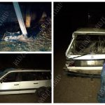 ДТП в Слободзее: пьяный водитель влетел в столб и сбежал