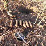В Новых Аненах нашли арсенал боеприпасов времён ВОВ (ФОТО)