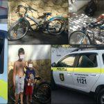 Вынес из подъезда детский велосипед: вора задержали с поличным