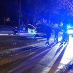 Двух полицейских госпитализировали после ночного ДТП на Буюканах (ФОТО)