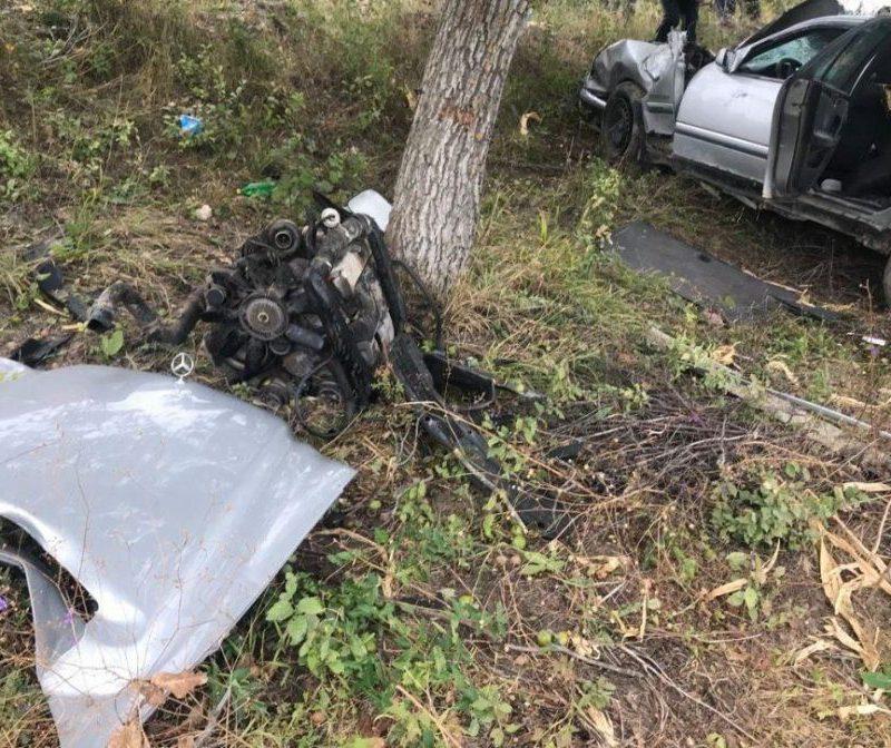 """ДТП в Страшенах: машина """"всмятку"""", пострадавший в больнице"""