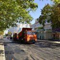 Участок улицы Н. Тестемицану начали асфальтировать: изменены маршруты общественного транспорта