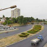 В течение недели отремонтированный участок улицы Албишоара будет открыт