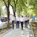 Чебан проверил ремонт тротуаров на Пушкина и Бодони: Недочёты будут устранены (ФОТО, ВИДЕО)