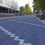 Ремонт тротуаров на улицах Бэнулеску-Бодони и Пушкина идет полным ходом (ФОТО)