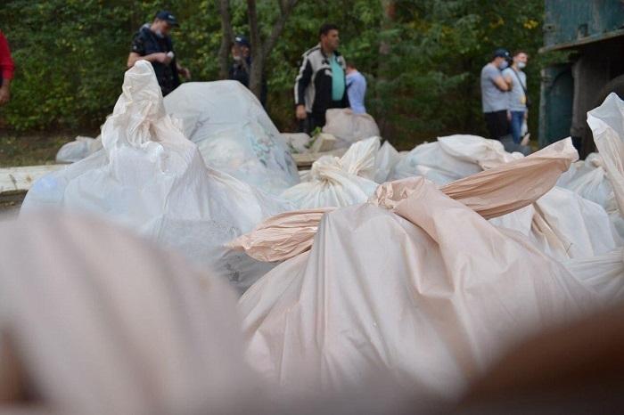 Чебан: В субботу на улицах города было собрано около 5000 мешков мусора (ФОТО)
