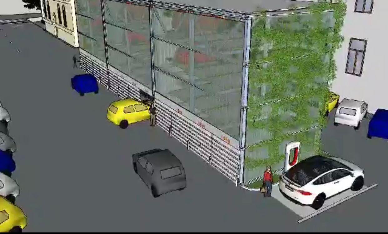 В Кишиневе будет построена современная автоматизированная парковка