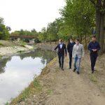 Чебан: Мы планируем ежегодно проводить работы по очистке русла реки Бык (ВИДЕО)