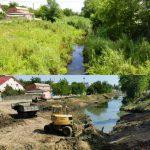 Чебан: Такая масштабная очистка русла реки Бык не проводилась с 1970-х годов (ФОТО)