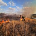26 очагов возгораний потушили в стране за сутки