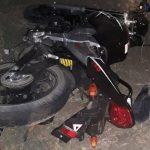 В аварии в Аненах пострадал водитель мотоцикла и пассажир