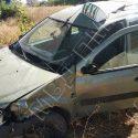 ДТП в Рыбнице: таксист не вписался в поворот, снёс столб и перевернулся