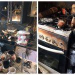 Забытый на плите чайник привёл к пожару