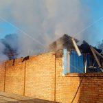 Пожар в магазине: пламя уничтожило подсобное помещение