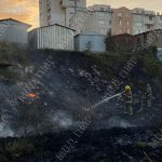 Пожар в Тирасполе: огонь едва не уничтожил гаражи