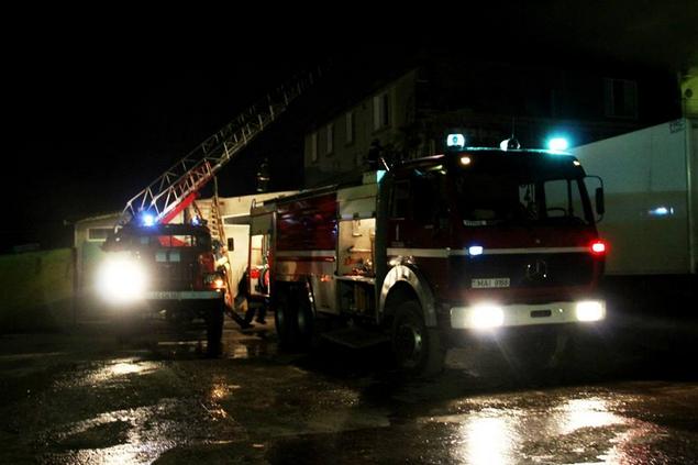 Пожар в Бельцах. Два человека отравились угарным газом