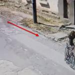 Вор-рецидивист украл велосипед и попал на видео