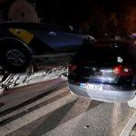 (ОБНОВЛЕНО) В столице случилось ДТП с участием машины службы такси