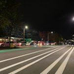 На пешеходной аллее на бульваре Мирча чел Бэтрын подключено современное освещение (ФОТО)