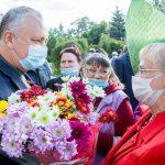 Поддержу любой проект, призванный способствовать процветанию и благополучию Молдовы! - Додон
