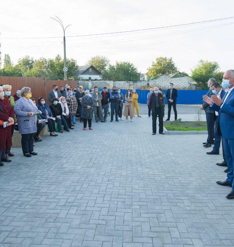 Додон: Главная цель – превратить Молдову в страну, привлекательную для инвесторов и комфортную для граждан