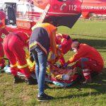 Экипаж SMURD доставил из Тараклии в Кишинёв пациента с ожогами 60% тела (ФОТО)