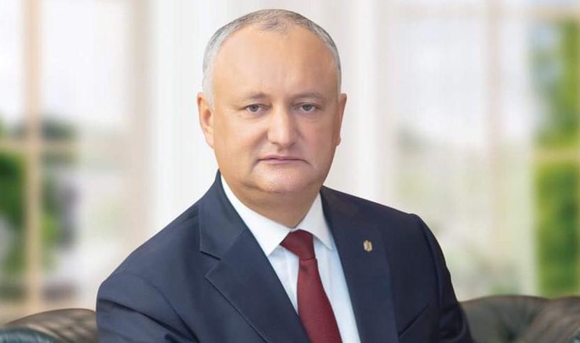 Игорь Додон – гражданам: 1 ноября придите на избирательные участки и сделайте верный выбор!