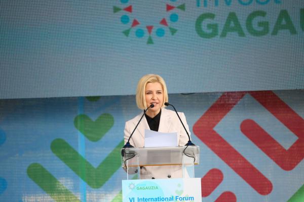 Влах: Мы создаем хорошую основу для развития Гагаузской автономии и всей страны