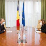 Кику обсудил актуальные вопросы с послом Германии в Молдове