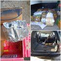 Набитое контрабандой авто нашли в приграничной зоне (ВИДЕО)
