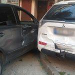 В столице начинающий водитель повредил четыре машины