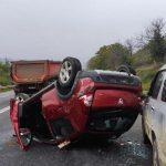 Серьёзное ДТП на трассе: водитель и пассажир оказались в больнице