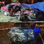 """Авария в Бендерах: машины """"всмятку"""", два человека погибли"""