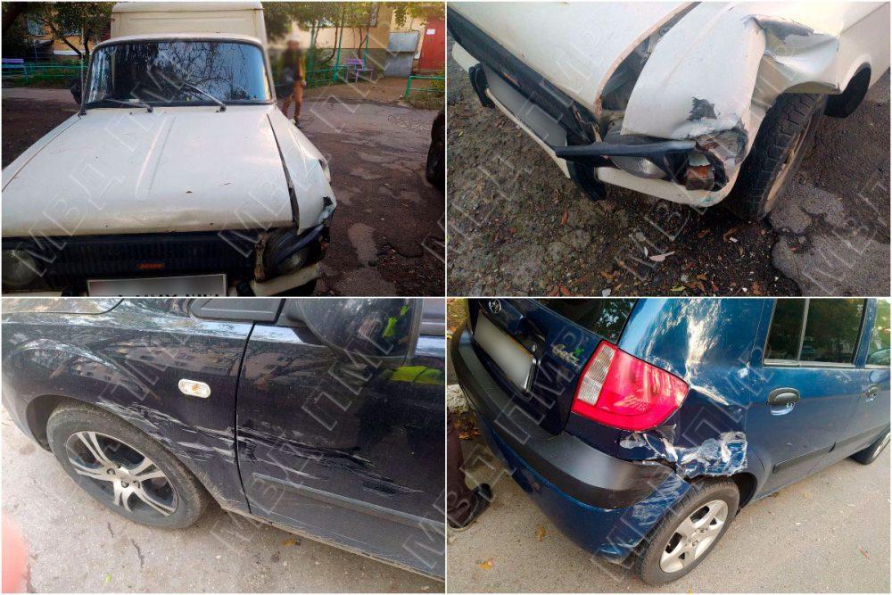 В Тирасполе водитель устроил две аварии и сбежал