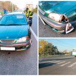 Нетрезвый пешеход выбежал на дорогу и попал под колёса машины