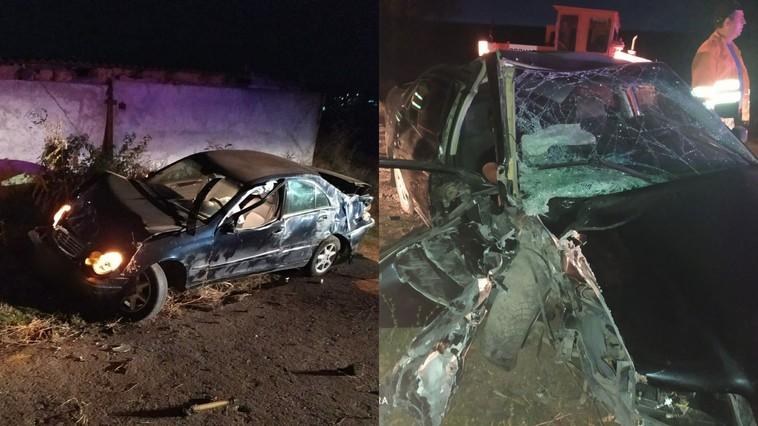 Две серьёзные аварии в Аненах: один погибший и трое раненых (ФОТО)