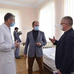 В больнице «Георге Палади» готовят 110 мест для пациентов с диагнозом COVID-19
