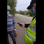 В шаге от трагедии: в Кагуле пьяный водитель маршрутки вёз в салоне 14 человек (ВИДЕО)