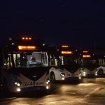 У Кишинёва появились 5 новых современных двухзвенных троллейбусов