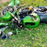 Мотоциклист серьёзно пострадал в аварии в Теленештах (ФОТО)