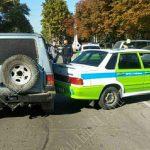 Экзамен не сдала: учебный автомобиль попал в ДТП в Рыбнице