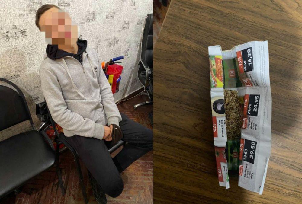 Разгуливал с наркотиками в кармане: житель столицы попался карабинерам