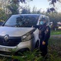 Молдаванин пытался пересечь границу на микроавтобусе, который числился в розыске