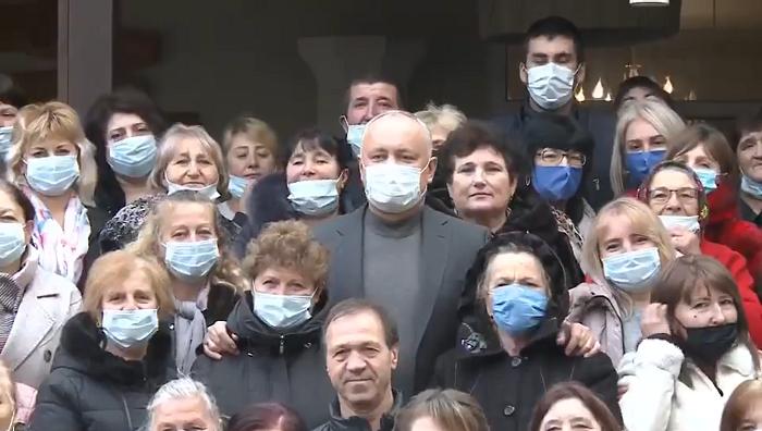 Додон: Только вместе мы сможем сделать Молдову процветающей!